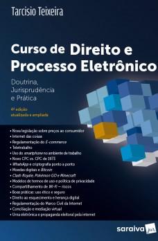 Curso de Direito e Processo Eletrônico - 4ª ed.