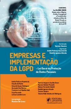 APRESENTAÇÃO  A temática da obra envolve tanto o ambiente empresarial quanto os aspectos teóricos e práticos da LGPD – Lei Geral de Proteção de Dados Pessoais (Lei n. 13.709/2018). Assim, a proteção de dados pessoais é um tema relevante no atual cenário do big data, ...